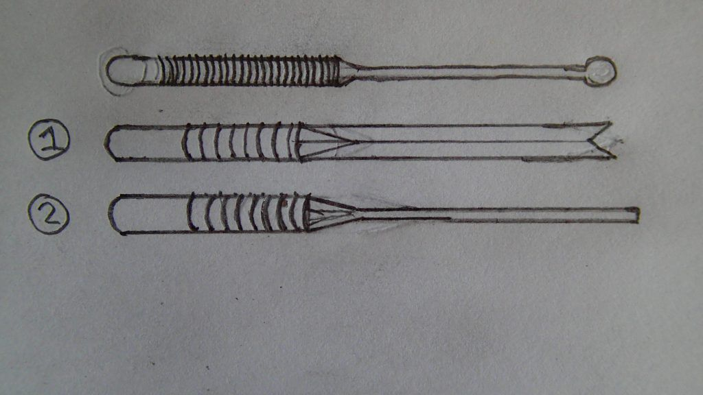 HTO Flail and Excaliber original drawings