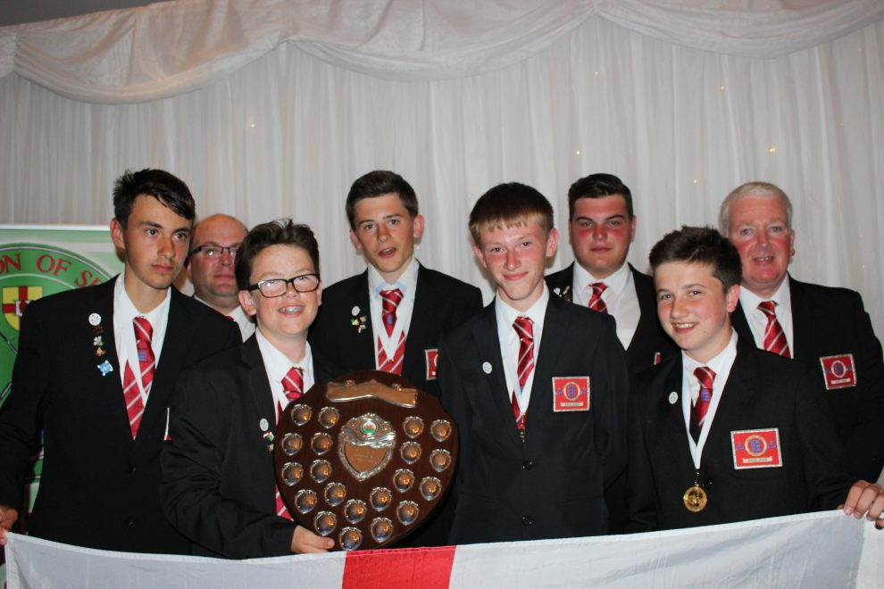 England Junior Sea Angling Team take Gold 2015 Home Internationals