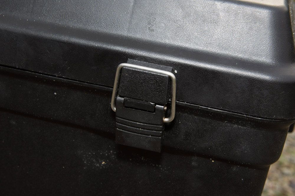 Strong latches to keep the box lid secure