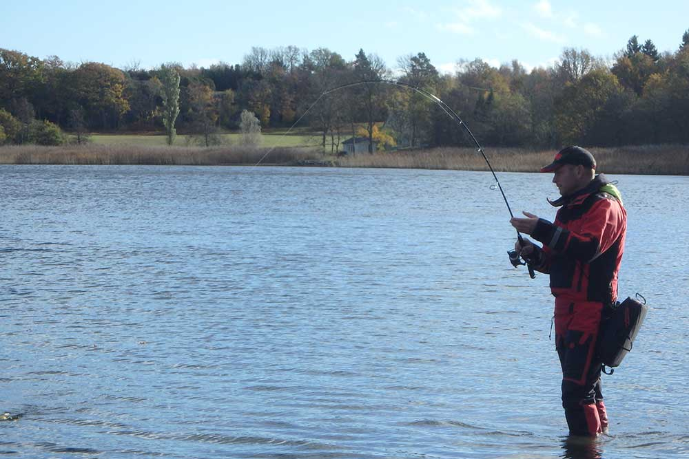 Winter Pike and Perch Fishing